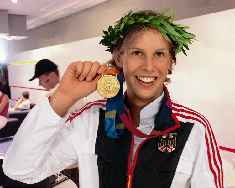 Fanny Rinne - Olympiasiegerin Athen 2004