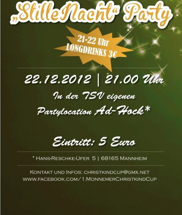 Stille Nacht Party