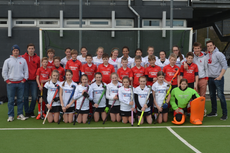 MA und KB beim World Youth Hockey Tournament in Amsterdam Ostern 2015