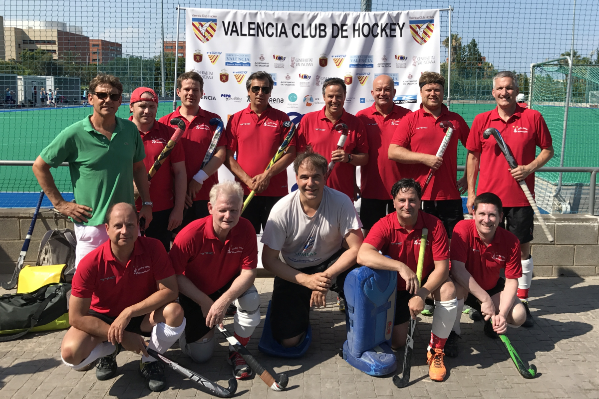 Hockeysöhne beim Paella-Cup 2017 in Valencia