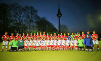 Bundesligateams des TSVMH im April 2015