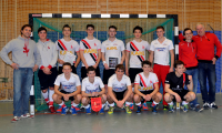 A-Jugend als HBW-Meister am 16.01.2016 in Ludwigsburg